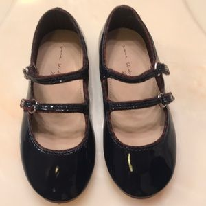 Toddler Girls Navy Loafers